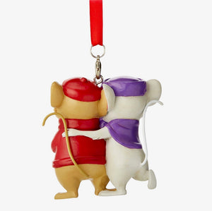 Disney Parks The Rescuers Bernard Bianca Christmas Ornament New with Tags