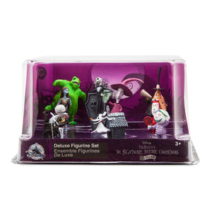Disney The Nightmare Before Christmas Deluxe Figure Play Set Cake Topper New