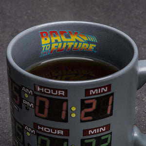 Back to the Future Heat Changing Mug New With Box