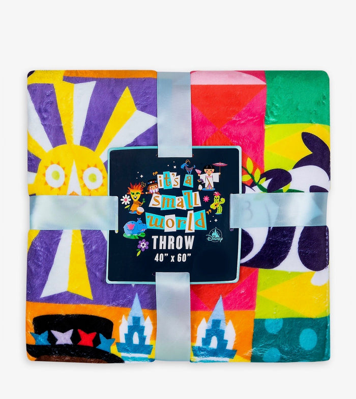 Disney Parks It's a Small World Throw New with Tag