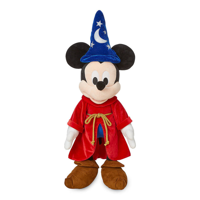 Disney Store Sorcerer Mickey Mouse Plush Large 27'' New With Tag