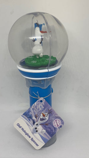 Disney Parks Frozen OLaf Hologlow Spinner Toy New with Tags