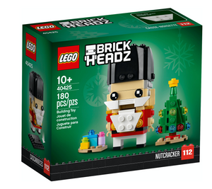 Lego 40425 BrickHeadz Nutcracker Holiday Christmas 180 pcz New with Box
