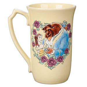 Disney Beauty and the Beast Belle and Beast Latte Mug New