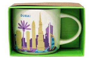 Starbucks You Are Here Dubai Ceramic Coffee Mug New with Box