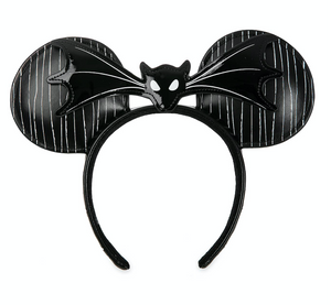 Disney Parks Halloween The Nightmare Before Christmas Minnie Ear Headband New