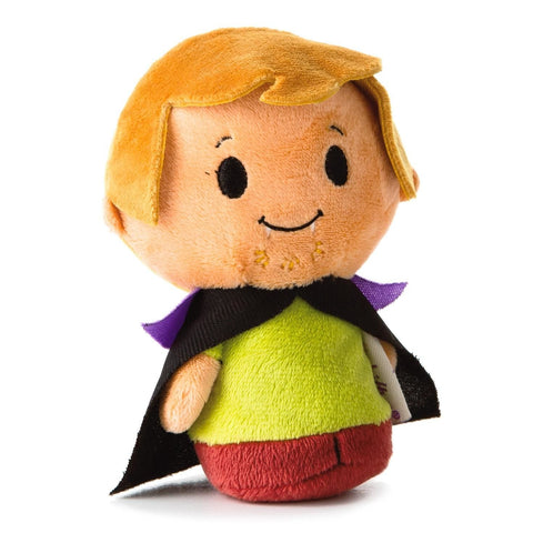 Hallmark Scooby-Doo Halloween Vampire Shaggy Itty Bittys Plush New with Tags