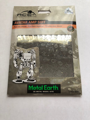 Disney Parks Avatar Amp Suit Metal Earth Model Kit 3D New