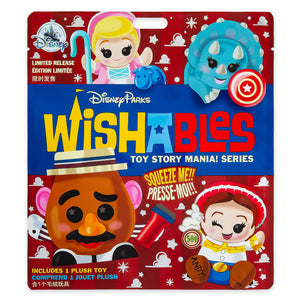 Disney Parks Toy Story Mania Mystery Wishables Limited Micro Plush New Sealed