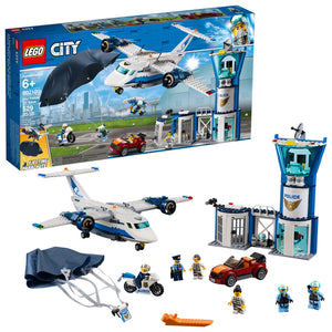 Lego 60210 City Sky Police Air Base Building Set New with Sealed Box