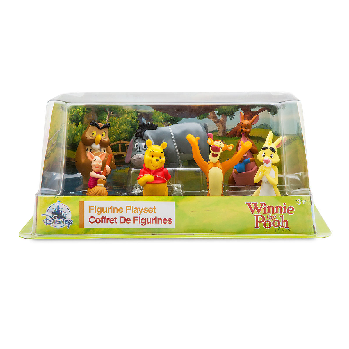 Disney Winnie the Pooh and Friends Figure Play Set Cake Topper New