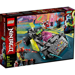 Lego 71710 NINJAGO Ninja Tuner Car Toy Building Kit New with Sealed Box