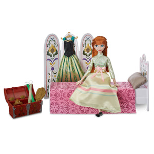 Disney Store Anna Classic Doll Coronation Day Play Set Frozen Playset New Box