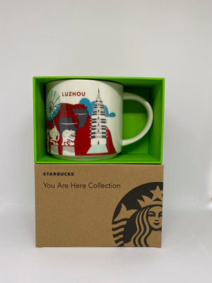 Starbucks You Are Here Collection Luzhou China Ceramic Coffee Mug New With Box