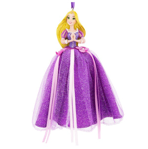 Disney Parks Princess Rapunzel Dress Tulle Christmas Ornament Holiday New