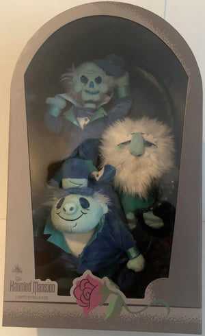 Disney Parks Haunted Mansion Hitchhiking Ghosts Glow Limited Plush New with Box