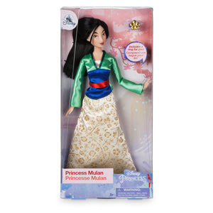 Disney Princess Mulan Classic Doll with Ring New with Box