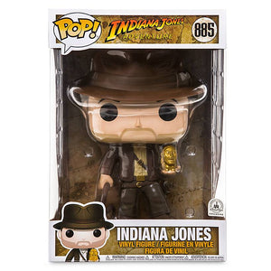 Disney Parks Indiana Jones Pop! Vinyl Figure by Funko 10inc New with Box