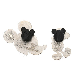 Disney Store Mickey Mouse Memories December Limited Pin Set New Sealed