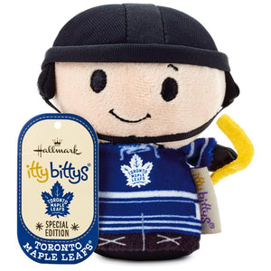 Hallmark NHL Toronto Maple Leafs Special Itty Bittys Plush New with Tag