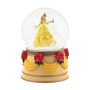 Disney Department 56 Princess Belle Snow Globe New with Box