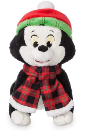 Disney Store Share the Magic Holiday Figaro Mini Bean Bag Plush New with Tags