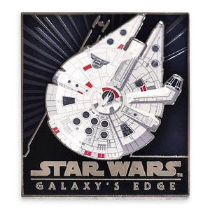 Disney Star Wars: Galaxy's Edge Millennium Falcon Pin Limited New with card