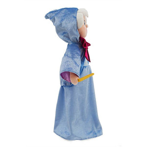 Disney Store Princess 70th Cinderella Fairy Godmother Medium Plush New with Tag