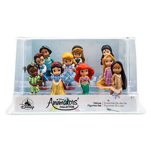 Disney Store Animators' Collection Deluxe Figurine Play Set 10 pcs New with Box