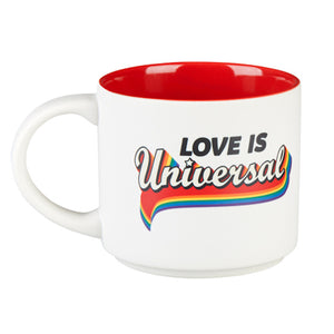 Universal Studios Love is Universal Retro Coffee Mug New