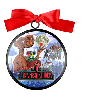 Universal Studios Retro E. T. Ceramic Christmas Ornament New with Tag