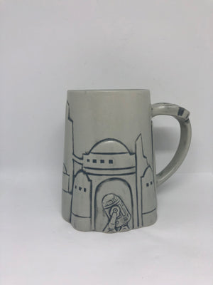 Disney Parks Star Wars Galaxy's Edge Black Spire Outpost R2-D2 Coffee Mug New