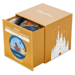 Disney Parks The Lion King Artist Series Limited Ball Ornament New with Box