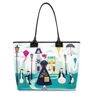 Disney Parks Mary Poppins Returns Tote Bag Dooney & Bourke New with Tags