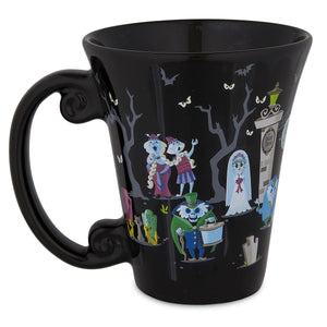 Disney Parks Haunted Mansion Attraction Ceramic Coffee Mug New