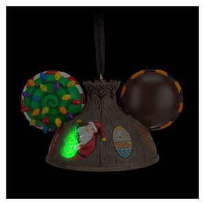 Disney Parks The Nightmare Before Christmas Ear Hat Light Up Ornament New w Tag