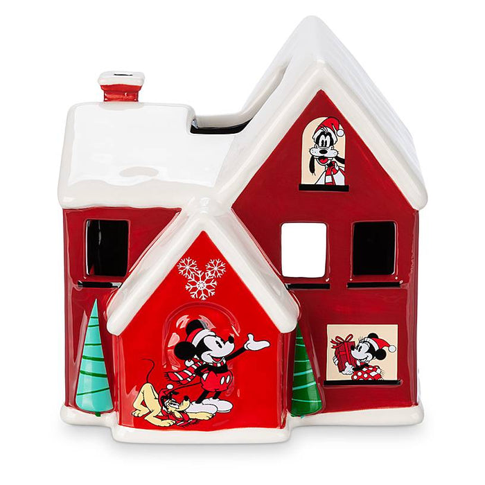 Disney Store Mickey Mouse and Friends Holiday Votive Candle Holder New with Box
