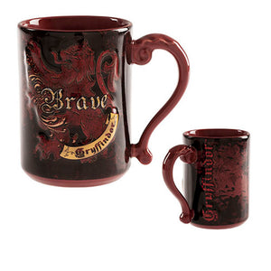 Universal Studios Wizarding World Harry Potter Gryffindor Brave Coffee Mug New
