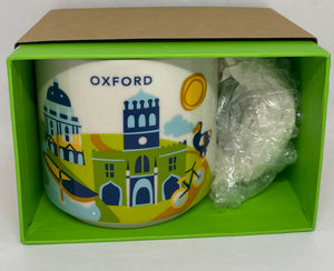 Starbucks You Are Here Collection Oxford England Coffee Mug New With Box