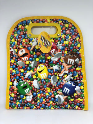 M&M's World Characters Lentils Insulated Tote Bag New with Tags