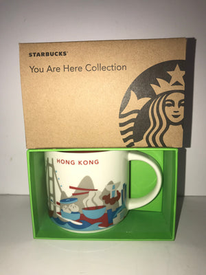 Starbucks You Are Here Collection Hong Kong Ceramic Coffee Mug New With Box