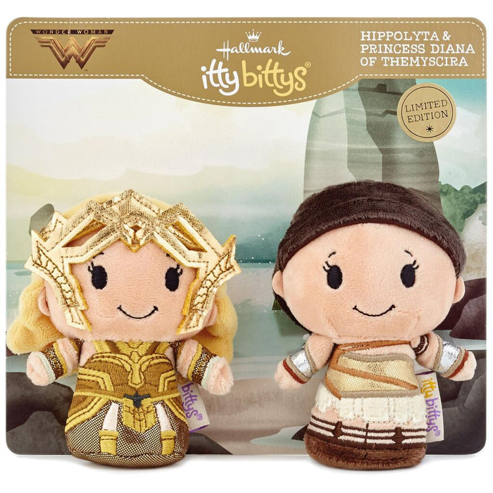 Hallmark Wonder Woman Amazon Warrior Limited Itty Bittys Plush New with Tag