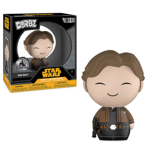 Disney Funko Exclusive Han Solo Dorbz Vinyl Figure Funko Solo A Star Wars Story New