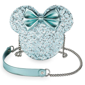 Disney Minnie Mouse Icon Crossbody Bag Arendelle Aqua New with Tags