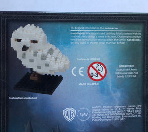 Universal Studios Wizarding World of Harry Potter Hedwig Nanoblock Set New Box