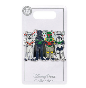 Disney Parks Star Wars Choir Christmas Holiday Pin New with Card
