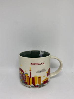 Starbucks You Are Here Collection Shenyang China Ceramic Coffee Mug New With Box