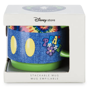 Disney Store Mickey Memories June Limited Stackable Coffee Mug New with Box