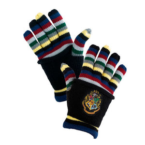 Universal Studios Wizarding World of Harry Potter Hogwarts Striped Gloves New