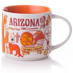 Starbucks Been There Series Collection Arizona Ceramic Coffee Mug New
